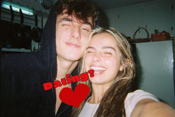 Bryce Hall and Addison Rae
