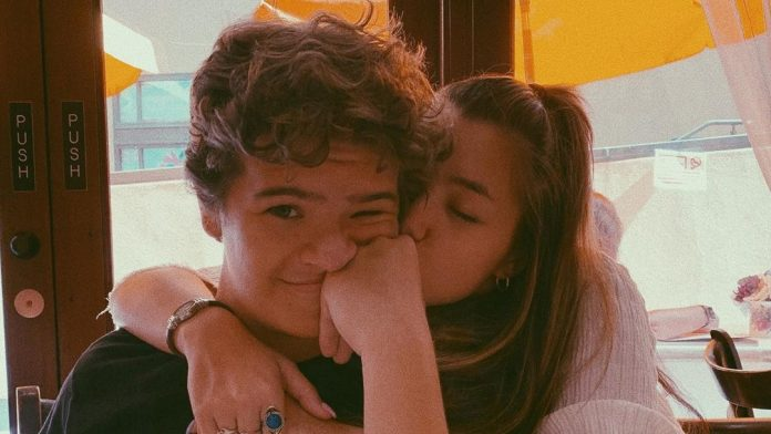 Gaten and Lizzy