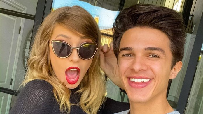 Brent Rivera and Taylor Swift
